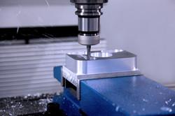 HeigerTechnik Bohrmaschinenwerkstück