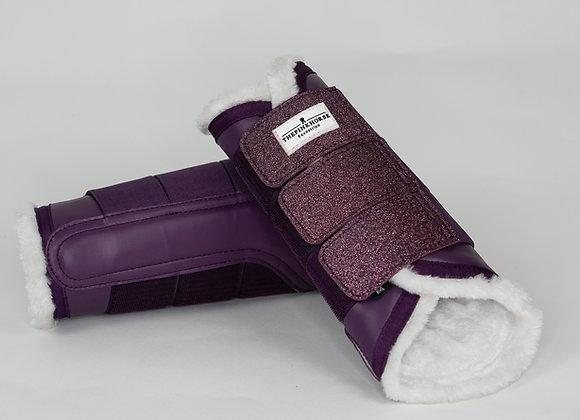 Gamaschen - Winter Plum