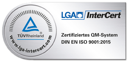 lga InterCert ISO 9001:2015