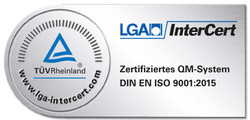 lga InterCert ISO 9001:2015
