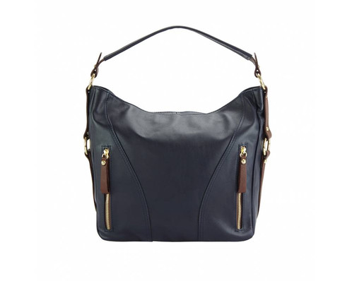A Large Ery Soft Leather Handbag Made From 100 The Dual Colours Add Flair And It Is Also Available In Smaller Version For Women Who Prefer