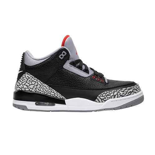 AIR JORDAN 3 RETRO OG 'BLACK CEMENT' (2018)