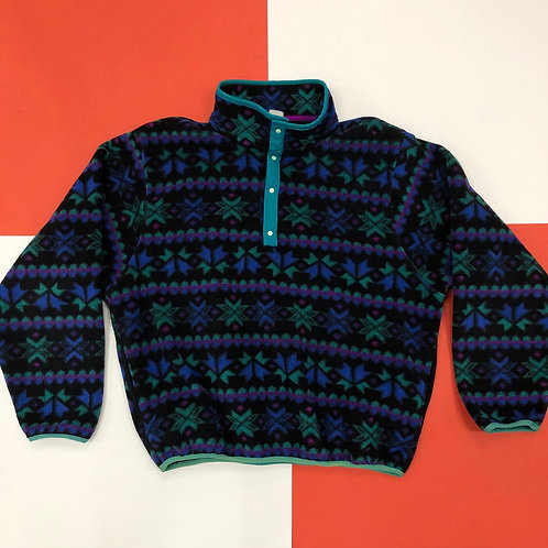 VINTAGE L.L. BEAN WINTER FLEECE PULLOVER