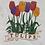 Thumbnail: VINTAGE TULIPS FLOWER TEE