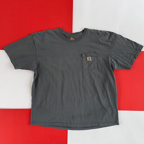 CARHARTT POCKET TEE GREY