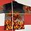Thumbnail: DRAGON FLAMES BUTTON UP SHIRT