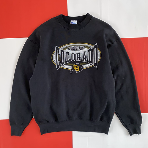 VINTAGE COLORADO BUFFALOES CREWNECK