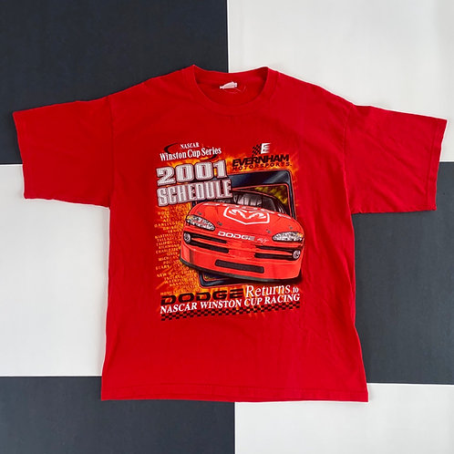 2001 NASCAR WINSTON CUP SERIES DODGE RACING TEE