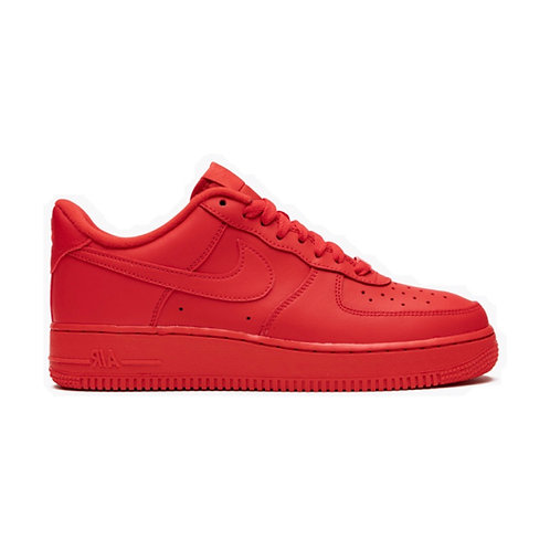 NIKE AIR FORCE 1 LOW '07 LV8 'TRIPLE RED' (2020)