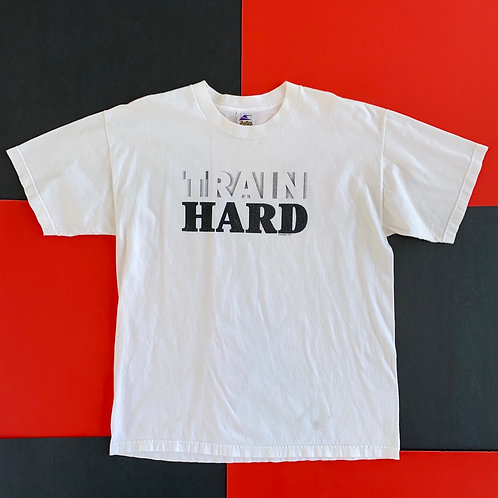 VINTAGE 1999 EASTBAY TRAIN HARD GRAPHIC TEE