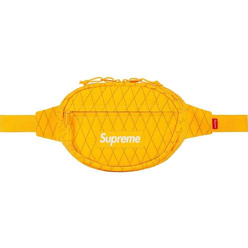 SUPREME FW18 WAIST BAG YELLOW