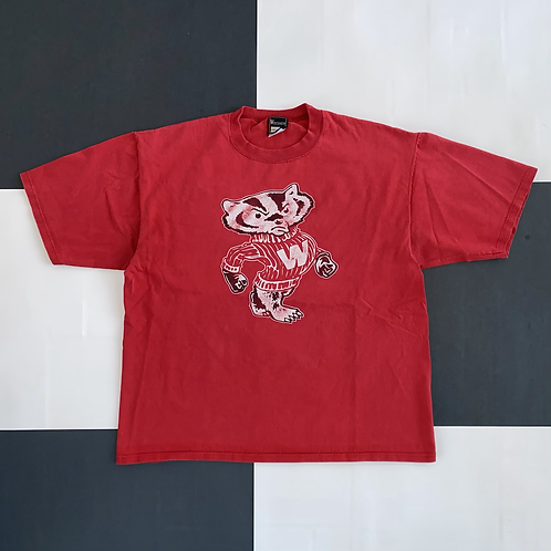 VINTAGE WISCONSIN BADGERS TEE