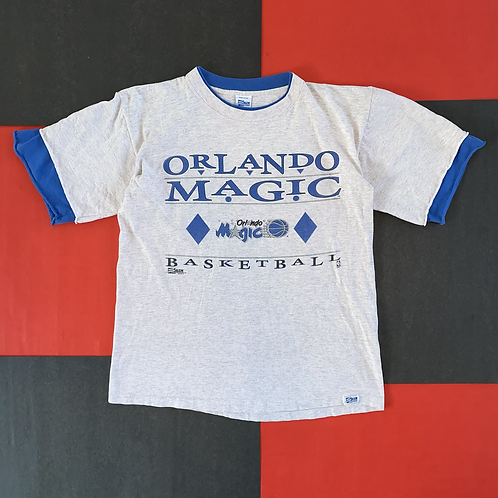 VINTAGE 1992 ORLANDO MAGIC LAYERED GRAPHIC TEE