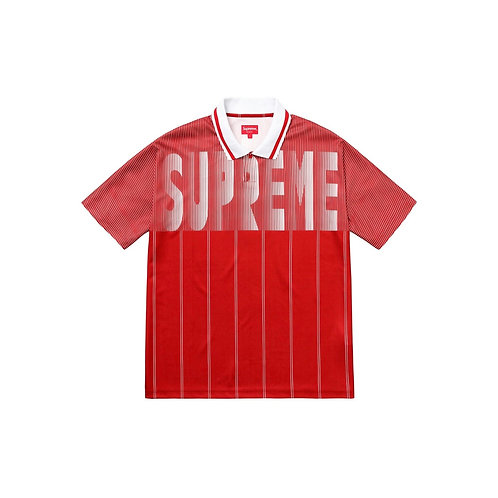 SUPREME SS18 SOCCER POLO RED