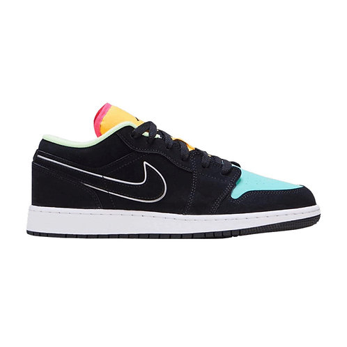 AIR JORDAN 1 LOW SE GS 'AURORA GREEN'