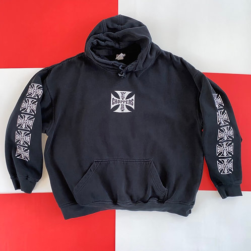 WEST COAST CHOPPERS CALIFORNIA HOODIE w/ GRAPHIC SLEEVES