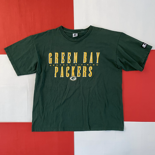 VINTAGE STARTER GREEN BAY PACKERS DOUBLE SIDED GRAPHIC TEE
