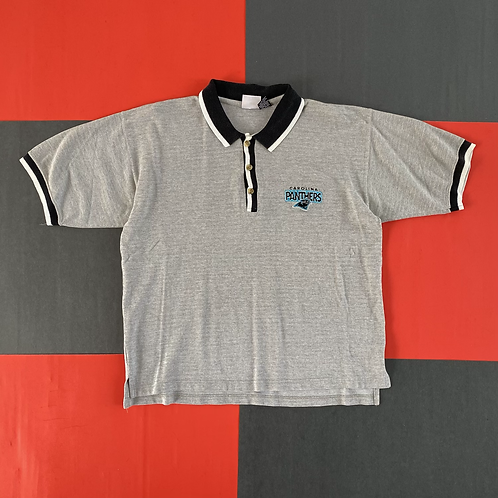 VINTAGE 1997 CAROLINA PANTHERS POLO