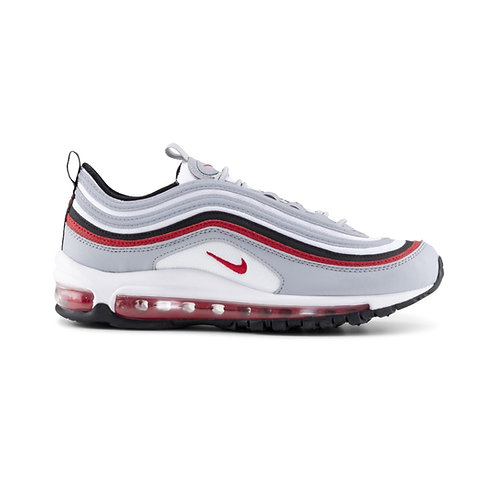 NIKE AIR MAX 97 GS 'WOLF GREY RED' (2020)
