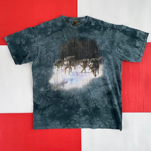 VINTAGE 1999 THE MOUNTAIN WOLVES TEE