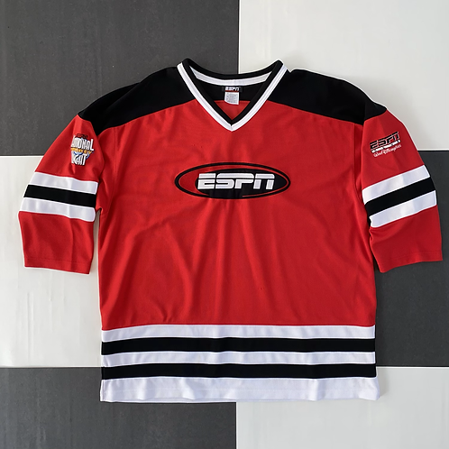 ESPN NATIONAL HOCKEY NIGHT JERSEY RED