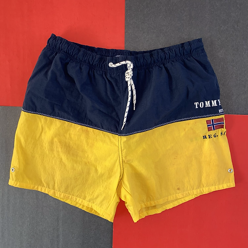 VINTAGE TOMMY HILFIGER COLOR BLOCK SHORTS
