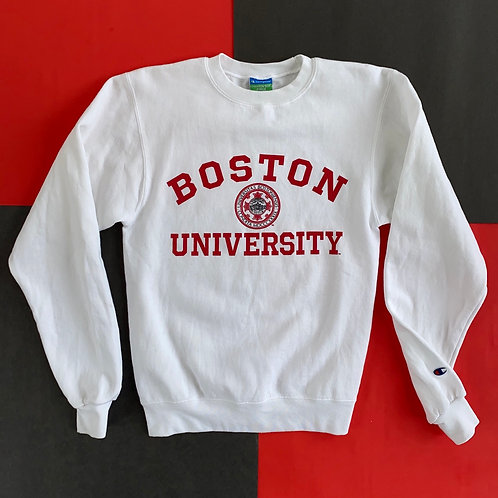 CHAMPION BOSTON UNIVERSITY CREWNECK SWEATSHIRT