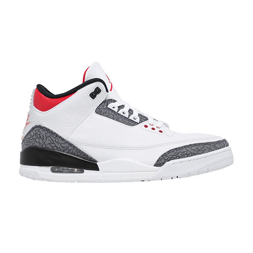 AIR JORDAN 3 RETRO DENIM SE 'FIRE RED' (2020)