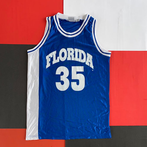 VINTAGE FLORIDA #35 PRINTED BASKETBALL JERSEY