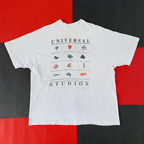VINTAGE 1990 UNIVERSAL STUDIOS EXPRESSIONS GRAPHIC TEE