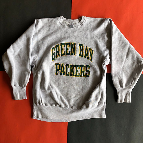 VINTAGE CHAMPION REVERSE WEAVE PACKERS CREWNECK