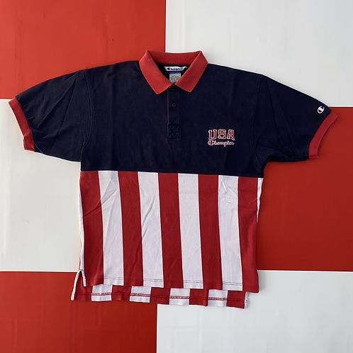 VINTAGE USA CHAMPION POLO