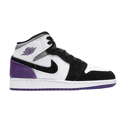 AIR JORDAN 1 MID GS 'COURT PURPLE' (2020)