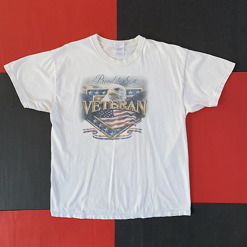 2003 PROUD TO BE A VETERAN GRAPHIC TEE