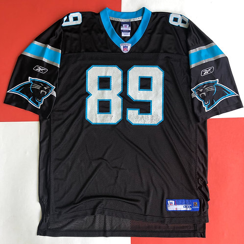 REEBOK STEVE SMITH CAROLINA PANTHERS FOOTBALL JERSEY