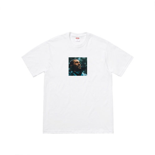 SUPREME FW18 MARVIN GAYE TEE WHITE