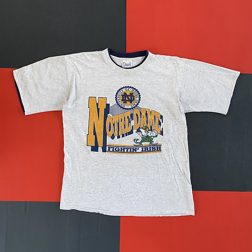 VINTAGE NOTRE DAME LAYERED TEE
