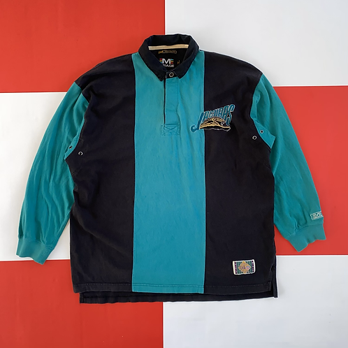 JACKSONVILLE JAGUARS COLOR BLOCK POLO