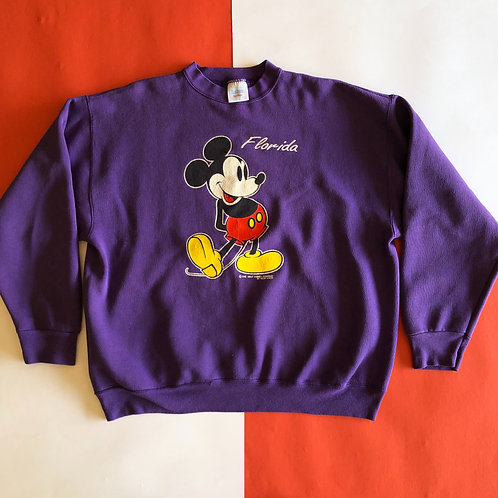 VINTAGE WALT DISNEY MICKEY MOUSE FLORIDA GRAPHIC CREWNECK