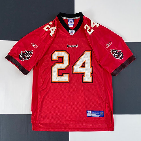 REEBOK TAMPA BAY BUCCANEERS CADILLAC WILLIAMS FOOTBALL JERSEY