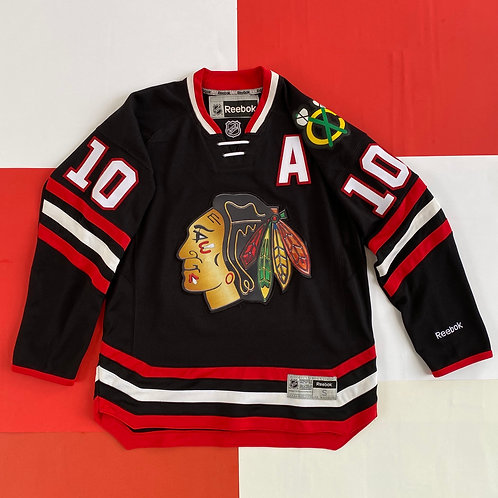 REEBOK NHL CHICAGO BLACKHAWKS PATRICK SHARP HOCKEY JERSEY