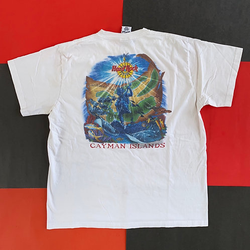 VINTAGE HARD ROCK CAFE CAYMAN ISLANDS GRAPHIC TEE