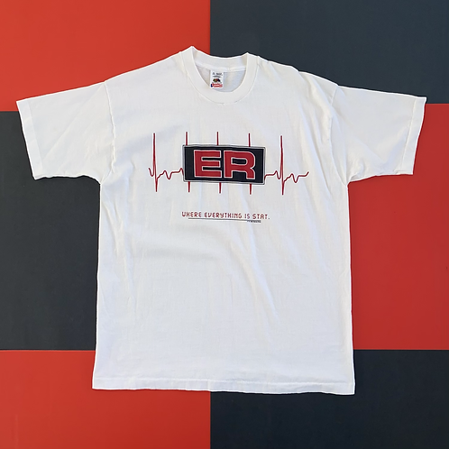 VINTAGE 1995 ER WHERE EVERYTHING IS STAT PROMO TEE