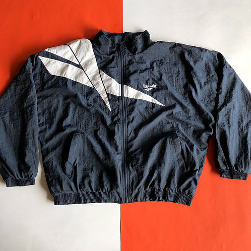 VINTAGE REEBOK BIG LOGO NYLON WINDBREAKER