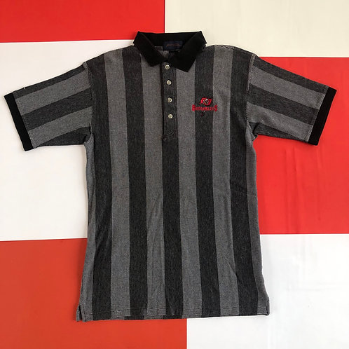 VINTAGE TAMPA BAY BUCCANEERS VERTICAL STRIPED POLO SHIRT