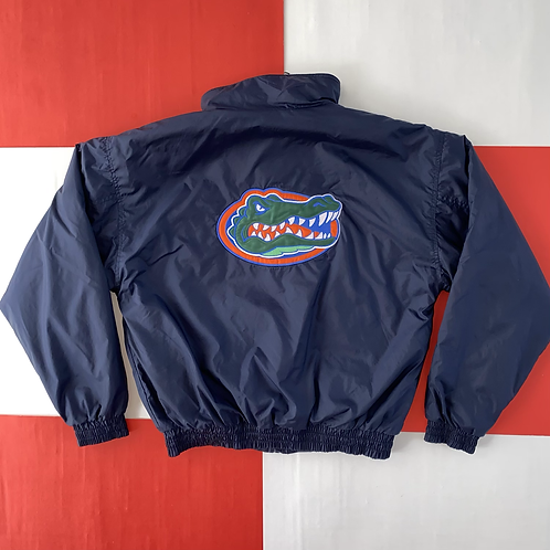 FLORIDA GATORS FULL ZIP EMBROIDERED LOGO JACKET