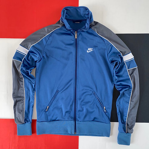 VINTAGE NIKE BLUE TAG FULL ZIP TRACK JACKET