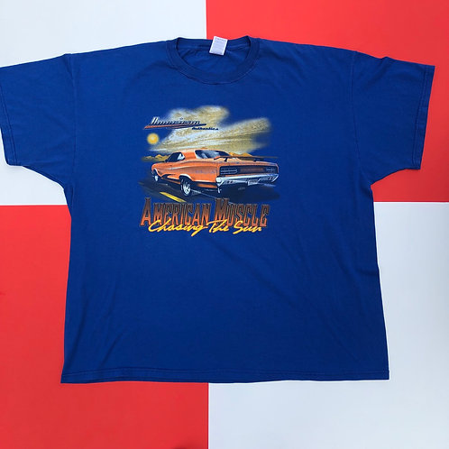 VINTAGE AMERICAN MUSCLE CAR GRAPHIC TEE
