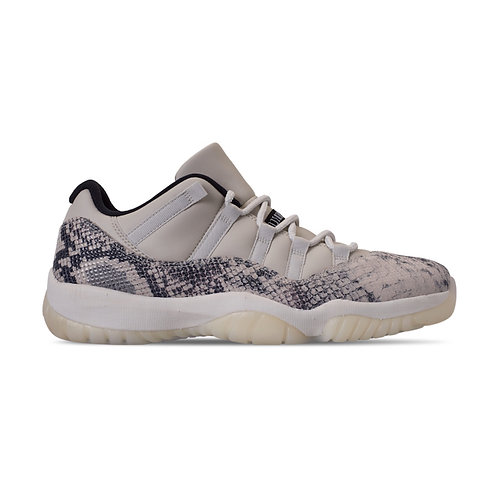 AIR JORDAN 11 RETRO LOW 'SNAKESKIN LIGHT BONE' (1029)