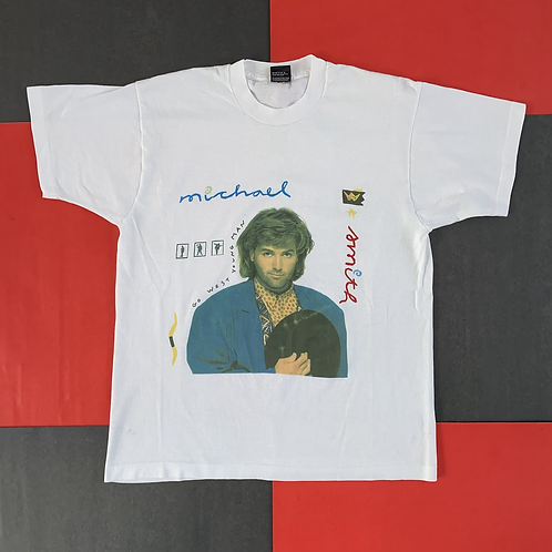 VINTAGE MICHAEL SMITH GO WEST YOUNG MAN TEE